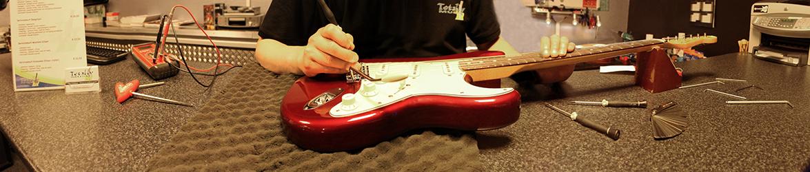 gitaar onderhoud almelo